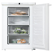 Buy Miele F12020S-2 Freezer, A++ Energy Rating, 60cm Wide, White Online at johnlewis.com