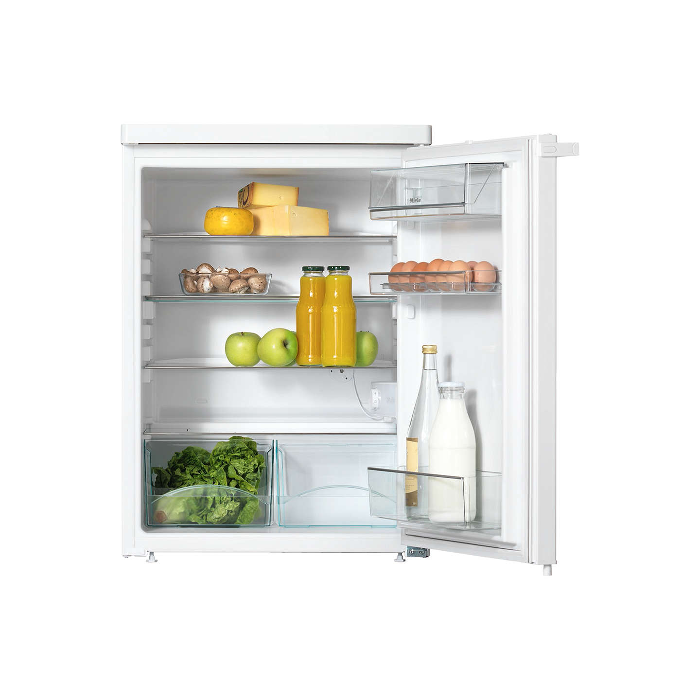BuyMiele K12020S-1 Larder Fridge, A+ Energy Rating, 60cm Wide, White Online at johnlewis.com