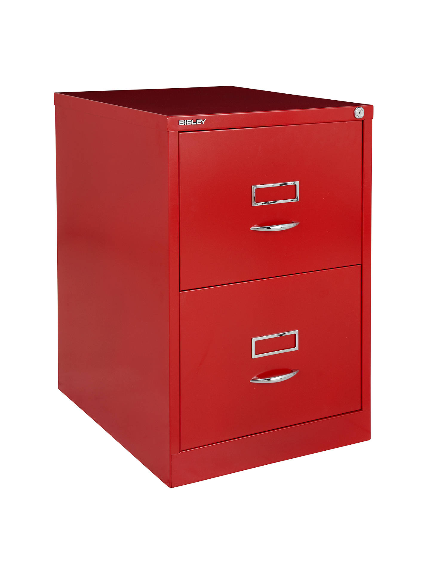 Bisley 2 Drawer Filing Cabinet Red Online At Johnlewis