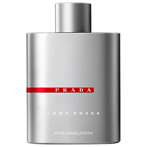 Buy Prada Luna Rossa Aftershave Lotion, 100ml Online at johnlewis.com
