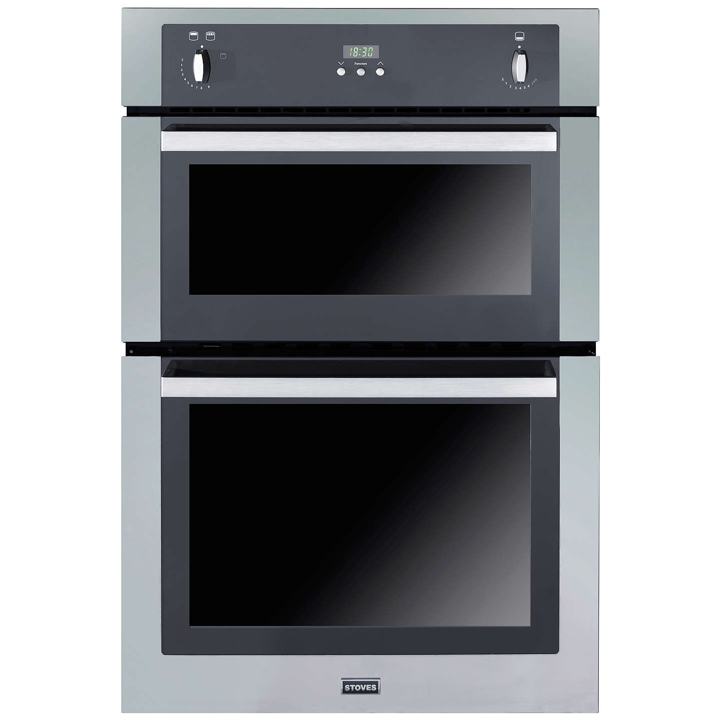 Stoves Sgb900ps Double Gas Oven Stainless Steel At John Lewis