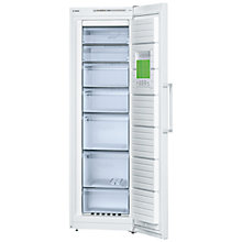 Buy Bosch GSN36VW30G Freezer, A++ Energy Rating, 60cm Wide, White Online at johnlewis.com