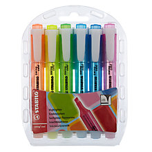 Buy Highlighters, Pack of 6 Online at johnlewis.com