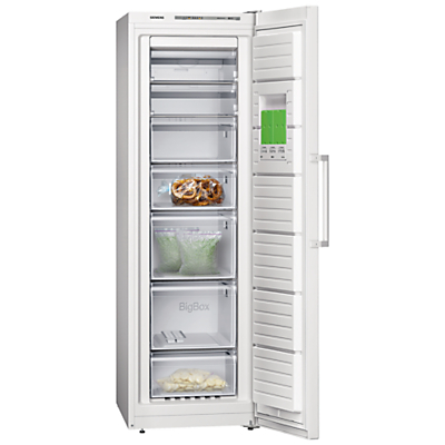 Siemens GS36NVW30G Freezer, A++ Energy Rating, 60cm Wide, White