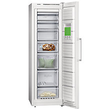 Buy Siemens GS36NVW30G Freezer, A++ Energy Rating, 60cm Wide, White Online at johnlewis.com