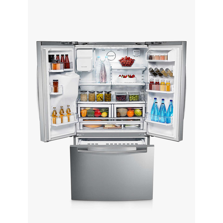 Samsung Rfg23uers 3 Door Fridge Freezer Stainless Steel
