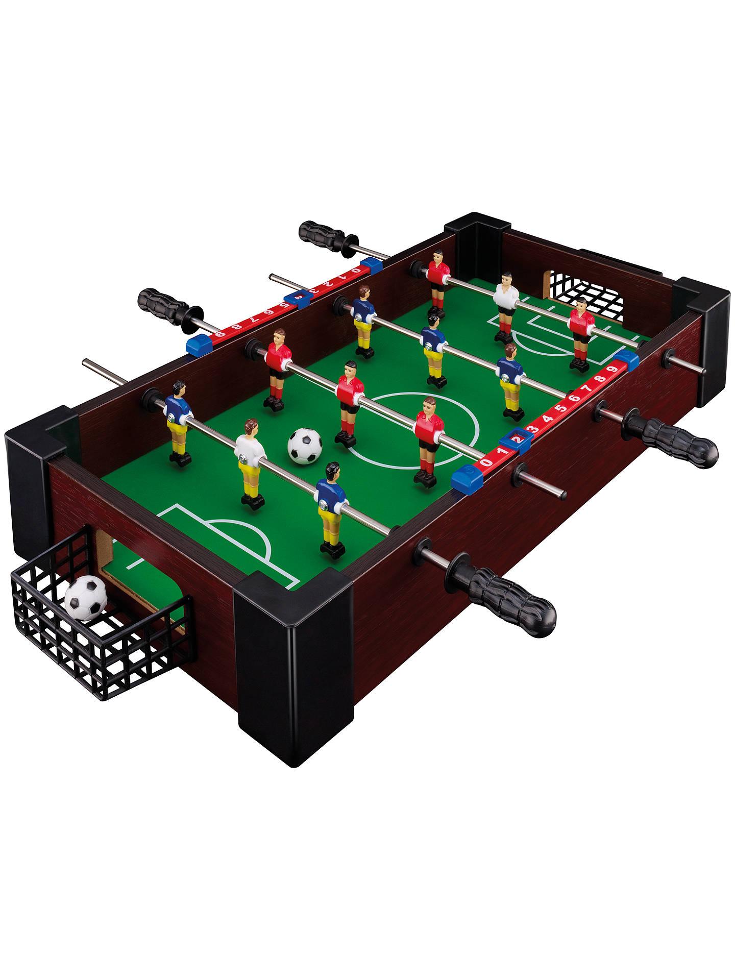John Lewis Partners Desktop Mini Football Table At John Lewis