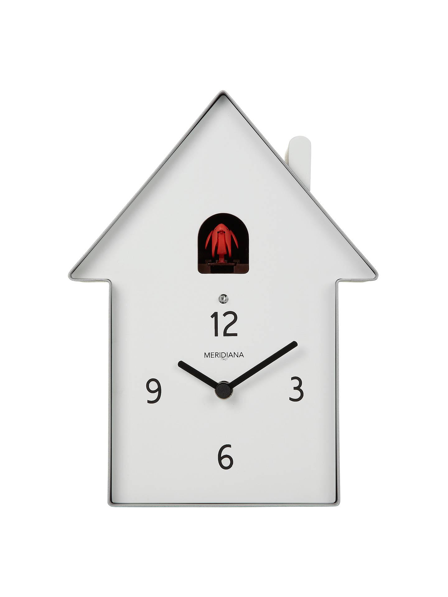 Diamantini Domeniconi Meridiana Cuckoo Clock Aluminium 26 X W19 5