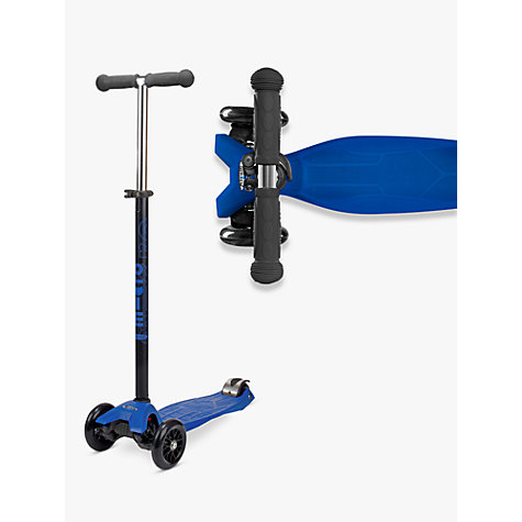 Buy Maxi Micro Scooter, 6-12 years, Blue Online at johnlewis.com