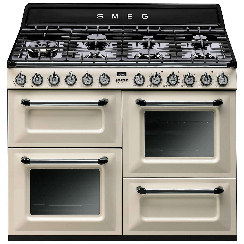 Range Cooker smeg tr4110 dual fuel range cooker at lewis