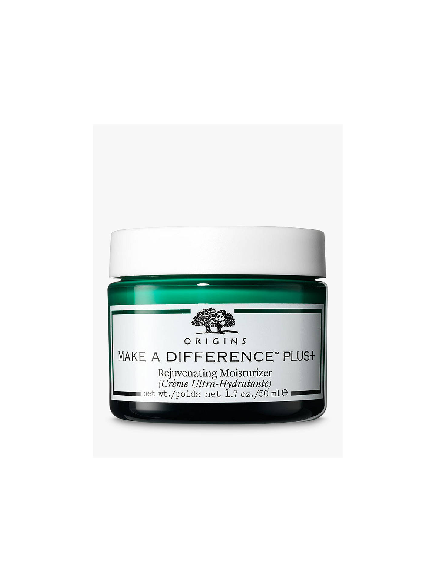 BuyOrigins Make A Difference™ Plus+ Rejuvenating Moisturizer, 50ml Online at johnlewis.com