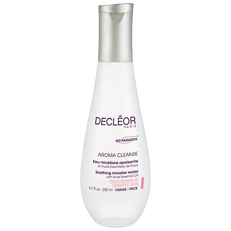 Buy Decléor Soothing Micellar Water with Rose Essential Oil, 200ml Online at johnlewis.com