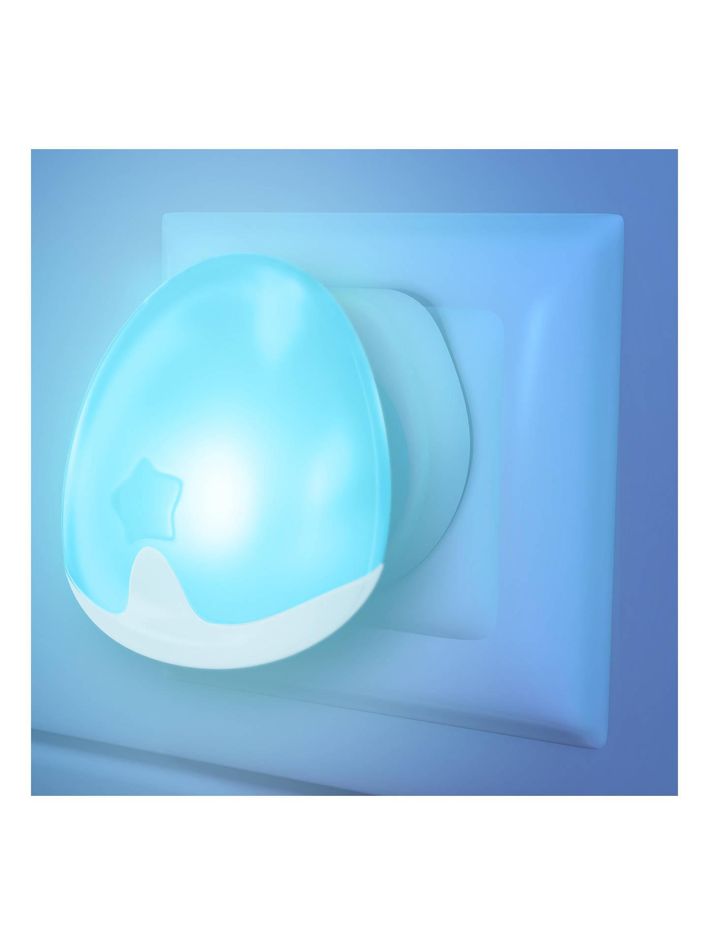 Pabobo Night Light, Blue at John Lewis & Partners