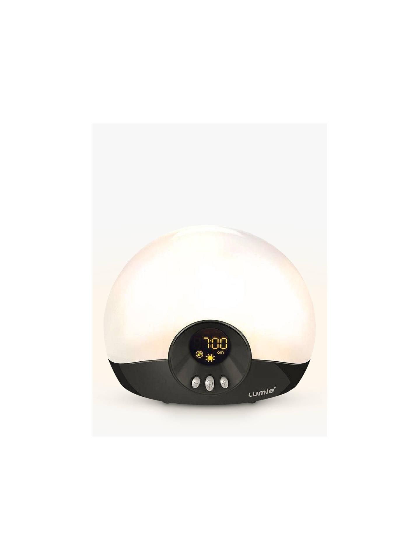 Lumie Bodyclock Go 75 Wake Up To Daylight Light At John Lewis Partners 15 Hour Lamp Fader Sunset Buylumie Online