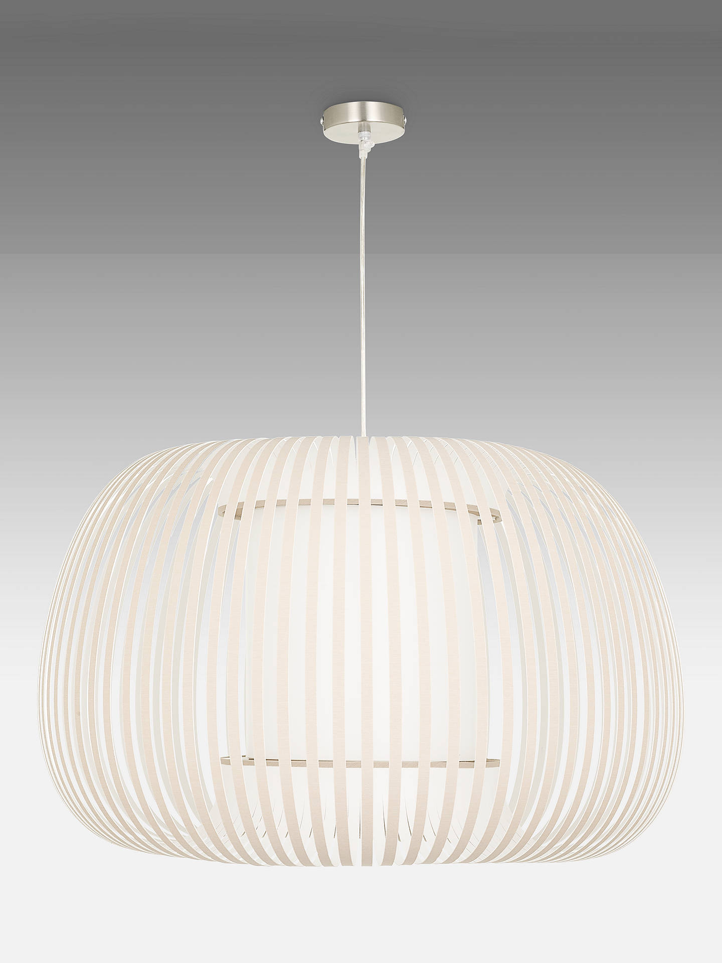 john-lewis-&-partners-harmony-large-ribbon-ceiling-light,-natural by john-lewis-&-partners