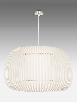 John Lewis & Partners Harmony Large Ribbon Ceiling Light