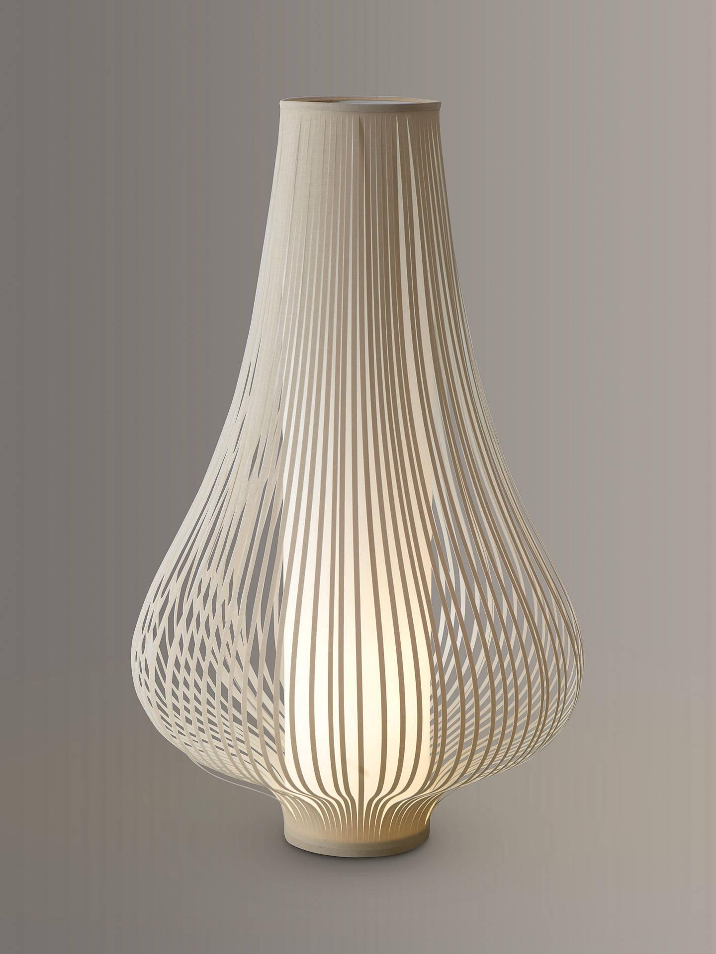 John Lewis & Partners Harmony Ribbon Large Table Lamp, Natural At John Lewis & Partners