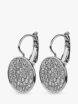 DYRBERG/KERN Desira Crystal Disc Drop Earrings