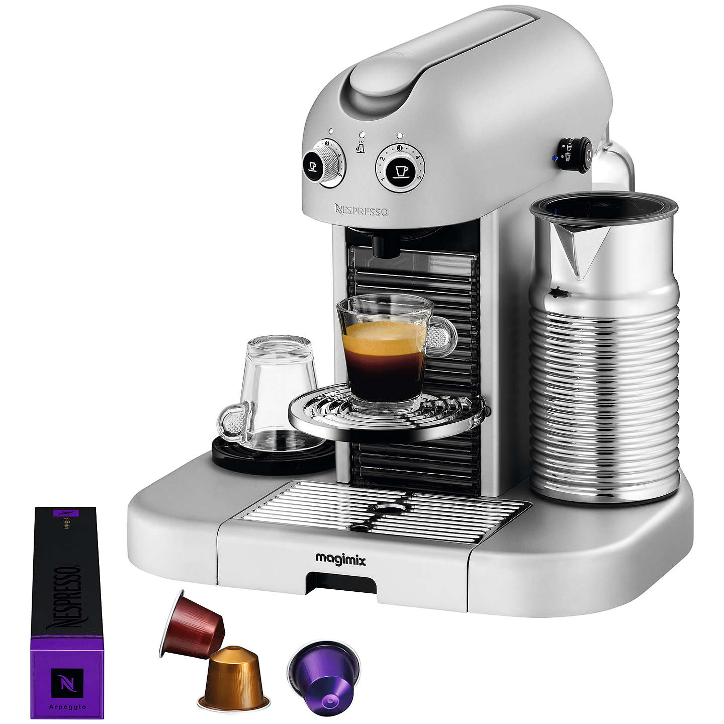 Buynespresso Gran Maestria Coffee Machine By Magimix, Silver Online At