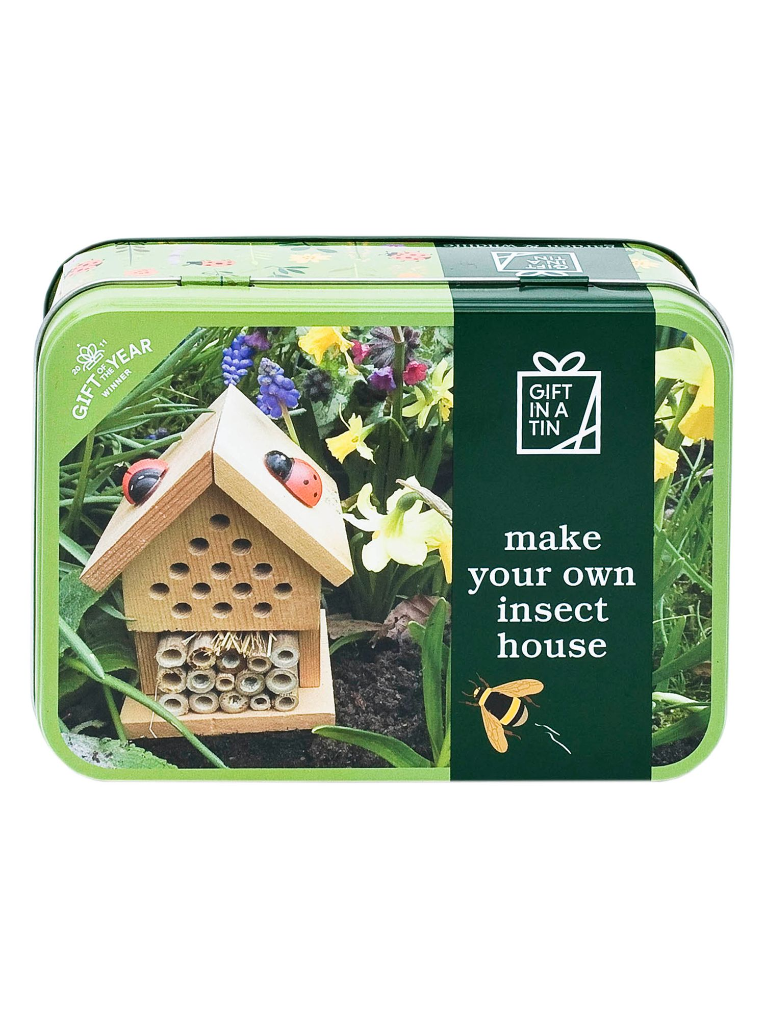 Apples To Pears Apples to Pears Gift In a Tin Make Your Own Insect House Craft Kit