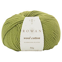 Buy Rowan Wool Cotton DK Yarn, 50g, Elf 946 Online at johnlewis.com