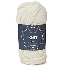 Buy John Lewis Merino Blend Chunky Yarn, 50g Online at johnlewis.com