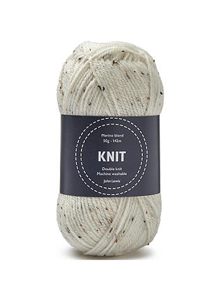 Buy John Lewis & Partners Merino Blend DK Yarn, 50g, Tweed Online at johnlewis.com