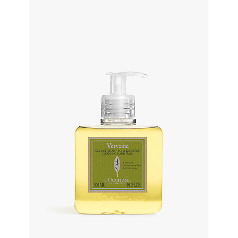 Buy L'Occitane Verbena Liquid Soap, 300ml Online at johnlewis.com