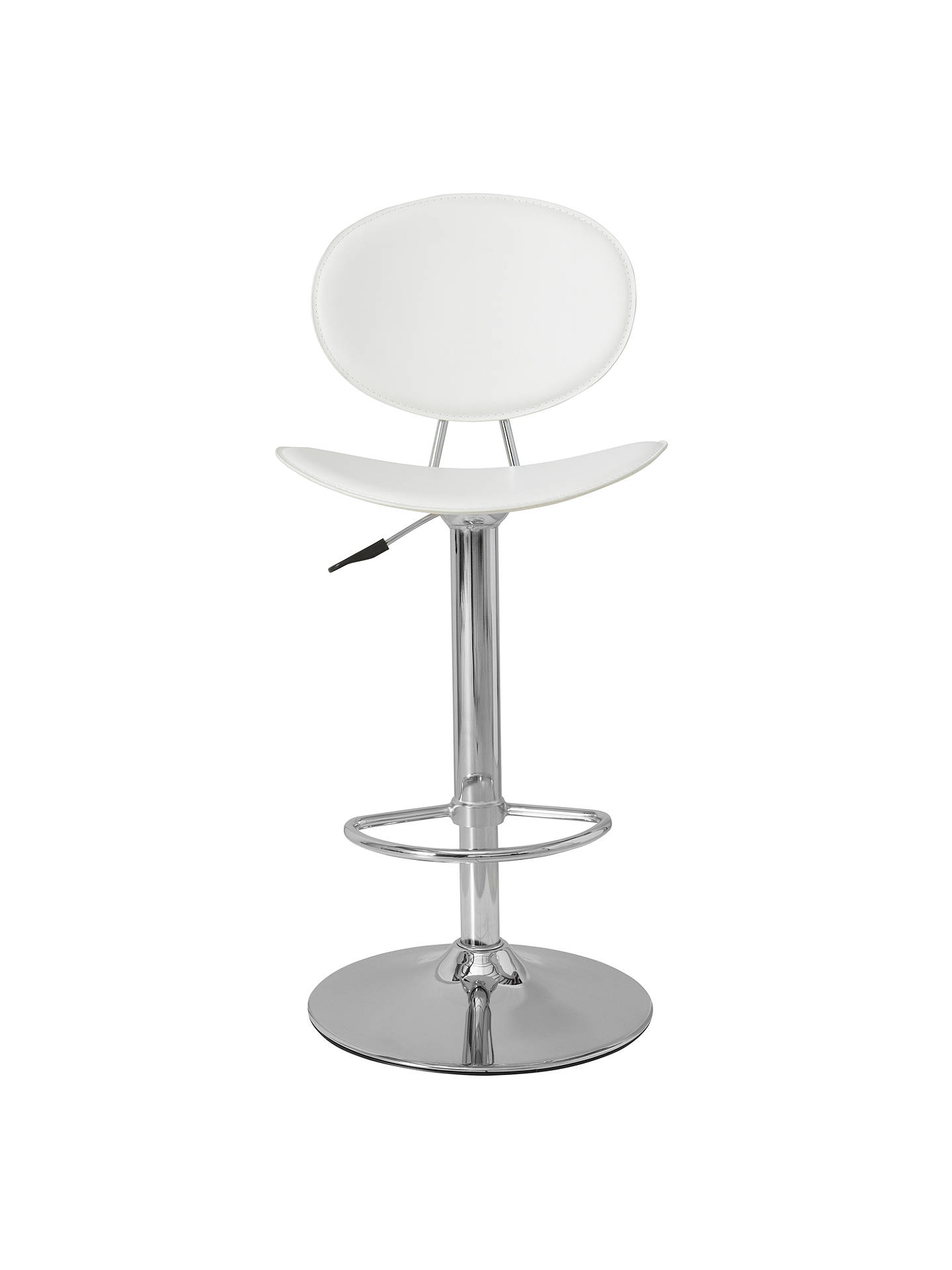 Buy Matilda Bar Chair, Snow White Online at johnlewis.com