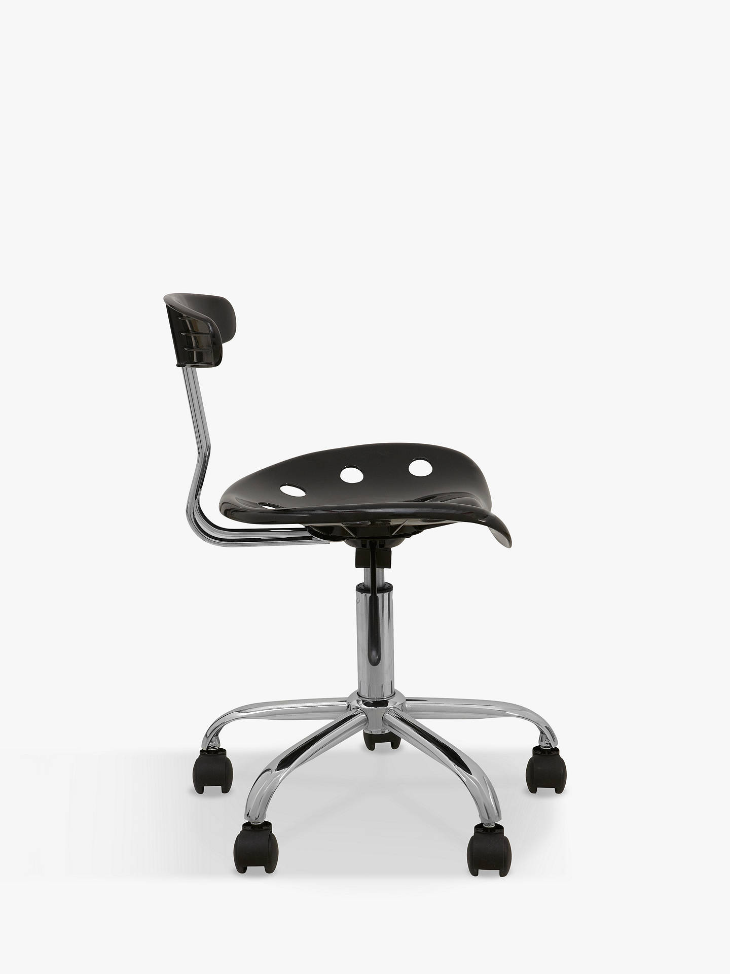 Buy John Lewis & Partners The Basics Giles Office Chair, Black Online at johnlewis.com
