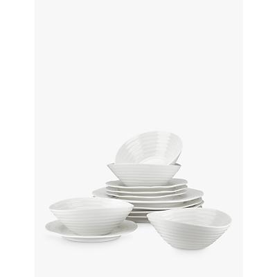 Image of Sophie Conran for Portmeirion Dinnerware Set, White, 12 Piece