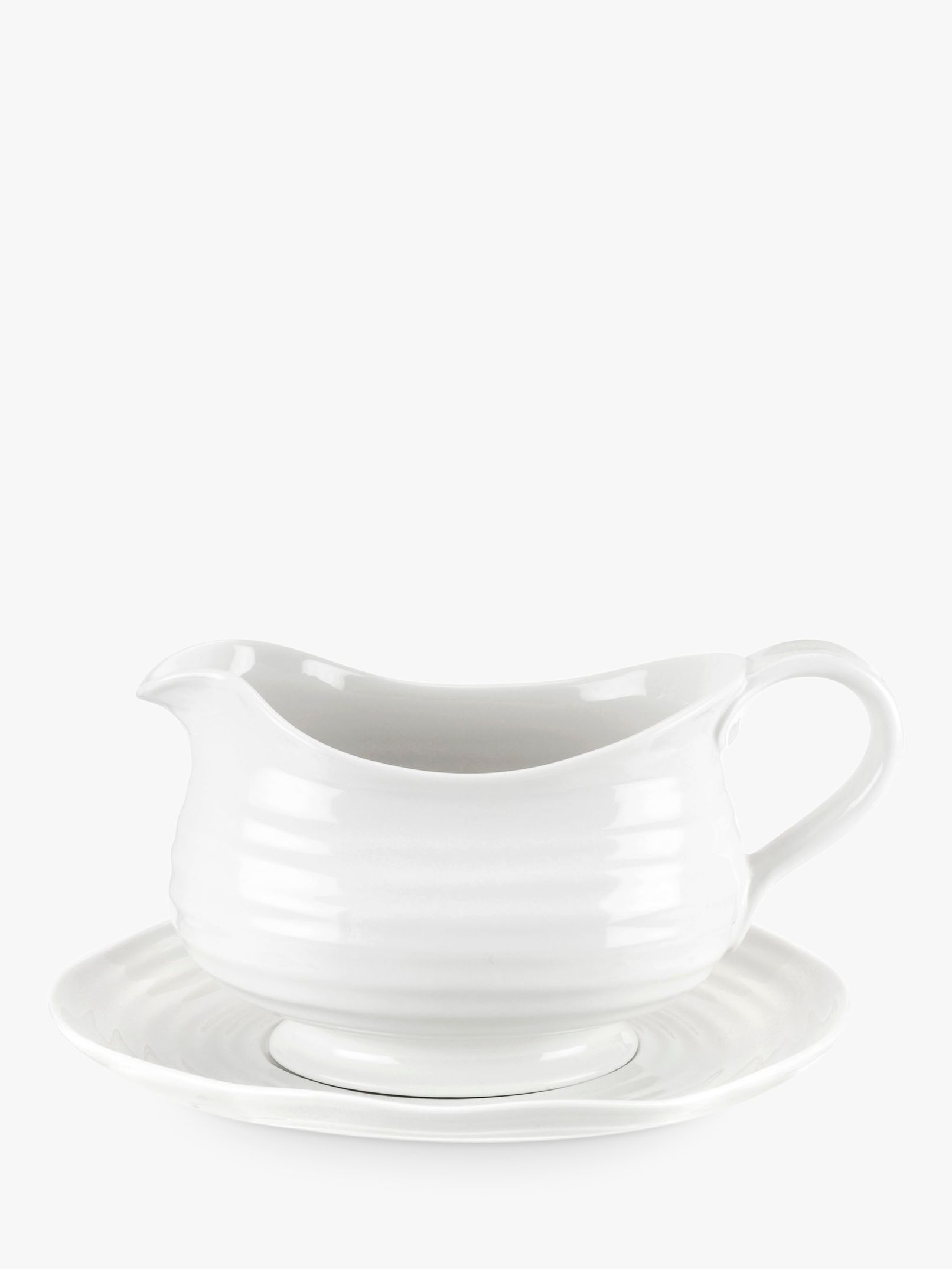 Sophie Conran for Portmeirion Sophie Conran for Portmeirion Sauce Boat and Stand