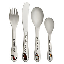 Buy Arthur Price Gruffalo Children's Cutlery Set, 4 Piece Online at johnlewis.com