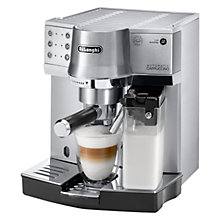 Buy De'Longhi Espresso EC860M Coffee Machine, Silver Online at johnlewis.com