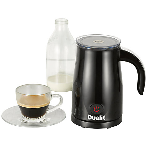 Buy Dualit Milk Frother, Black Online at johnlewis.com