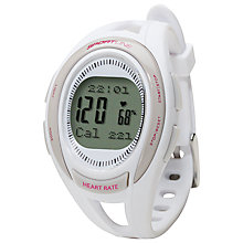 Buy Sportline 660 Women's Cardio Heart Rate Watch, White Online at johnlewis.com