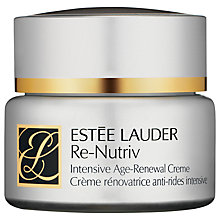 Buy Estée Lauder Re-Nutriv Age-Renewal Creme, 50ml Online at johnlewis.com