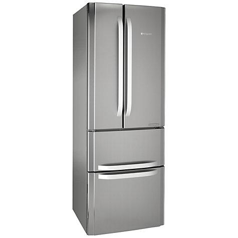 buy hotpoint ffu4dx fridge freezer a rated 70cm wide. Black Bedroom Furniture Sets. Home Design Ideas