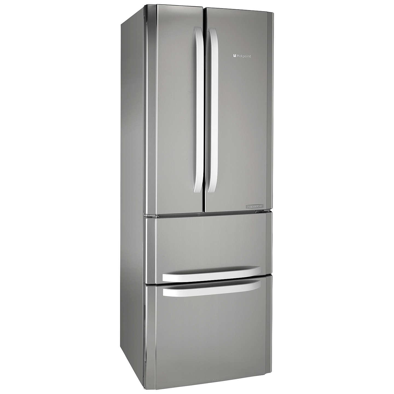 hotpoint ffu4dx fridge freezer a rated 70cm wide. Black Bedroom Furniture Sets. Home Design Ideas