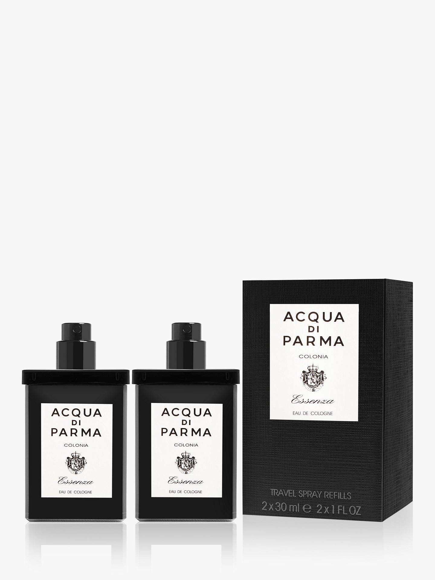 BuyAcqua di Parma Colonia Essenza Leather Travel Spray Refills, 2 x 30ml Online at johnlewis.com