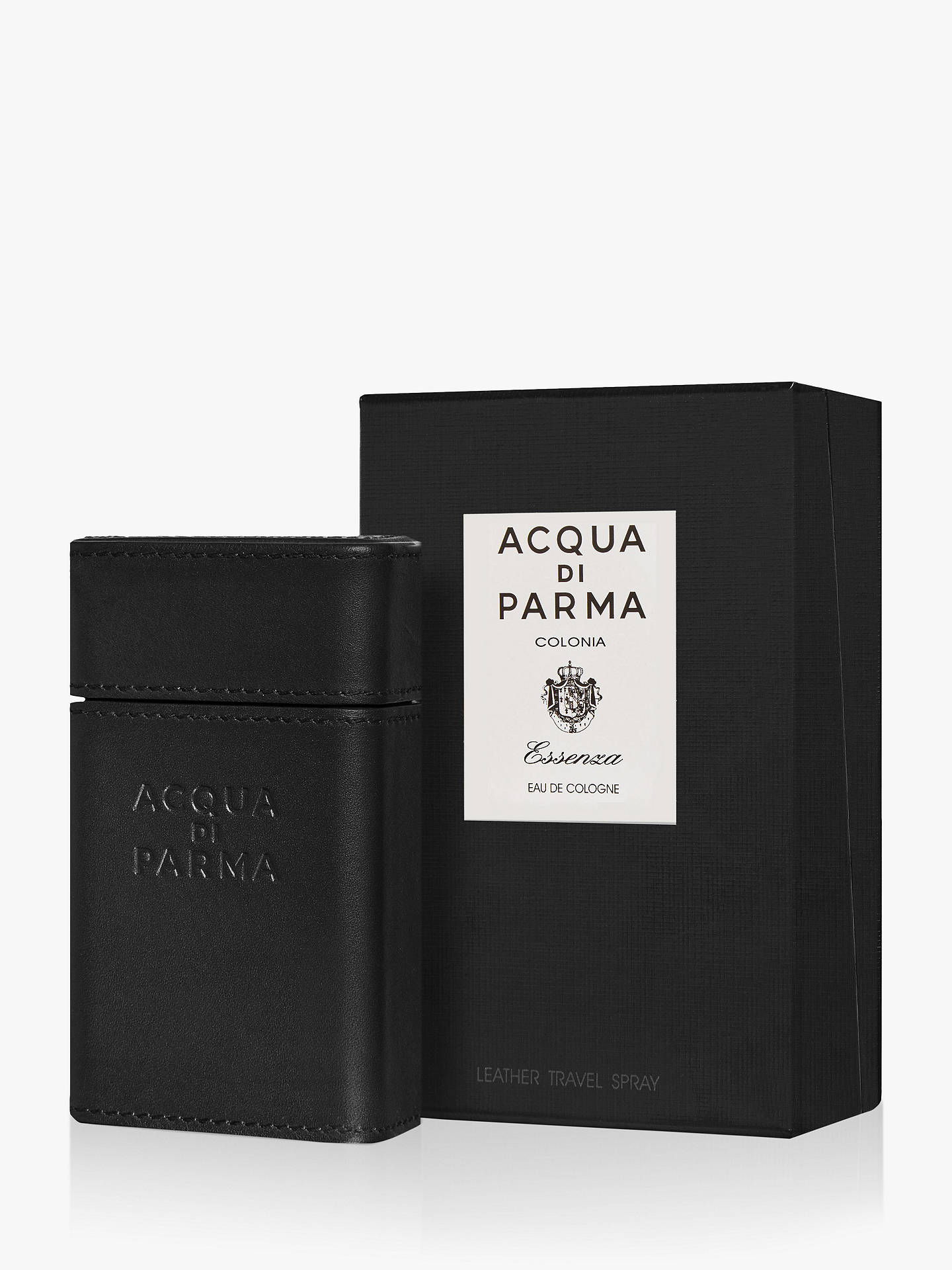 BuyAcqua di Parma Colonia Essenza Leather Travel Spray, 30ml Online at johnlewis.com