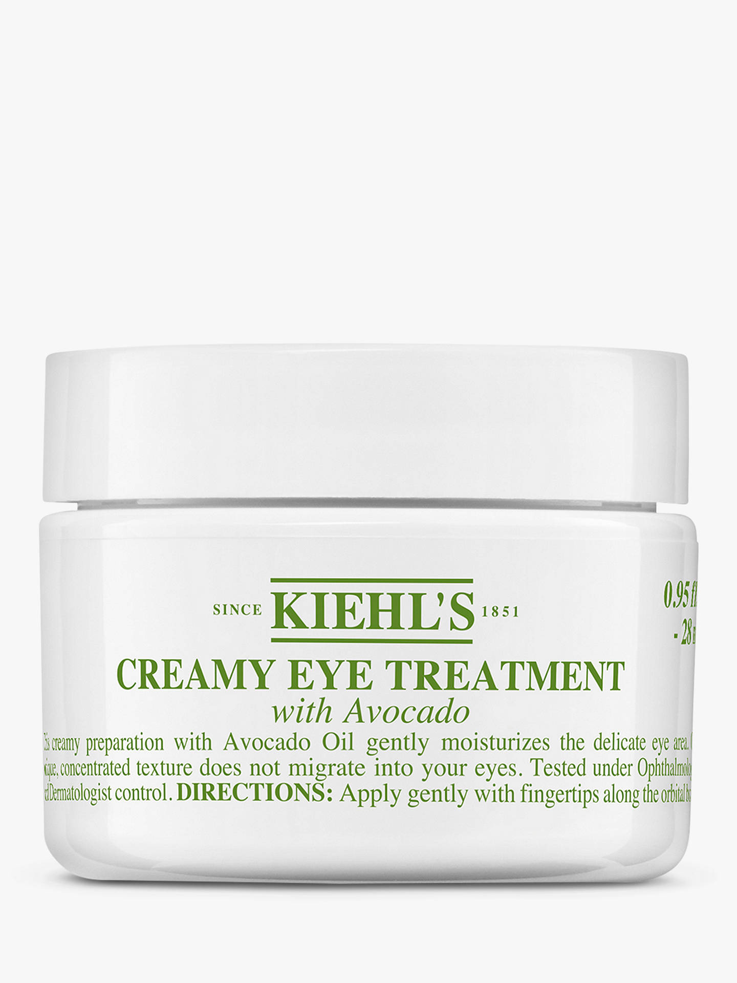 BuyKiehl's Creamy Eye Treatment with Avocado, 28ml Online at johnlewis.com