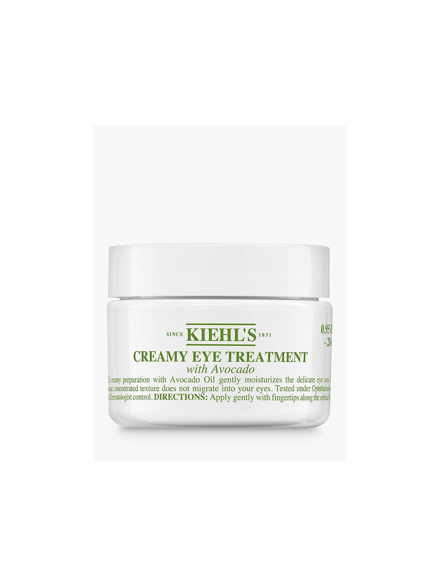 kiehls creamy eye treatment with avocado review
