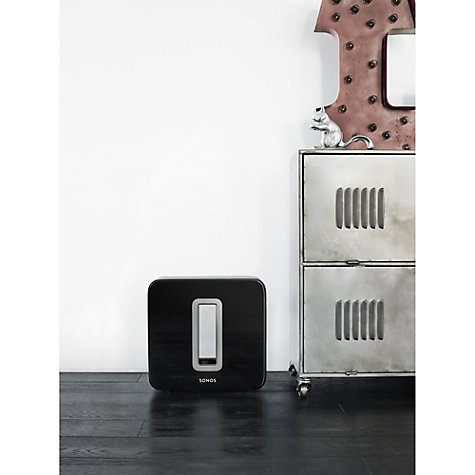 Buy Sonos SUB Wireless Subwoofer Online at johnlewis.com