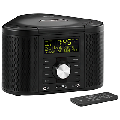 Image of Pure Chronos CD Series II DAB/FM/CD Clock Radio