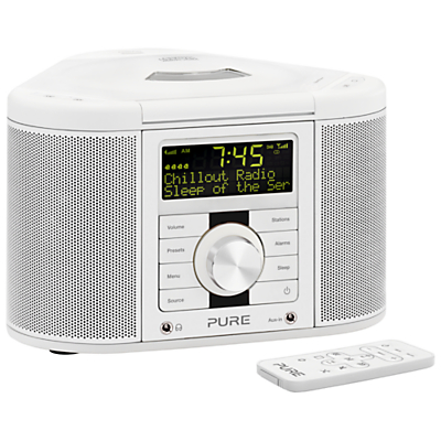 Pure Chronos CD Series II DAB/FM/CD Clock Radio