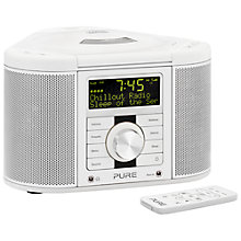 Buy Pure Chronos CD Series II DAB/FM/CD Clock Radio Online at johnlewis.com