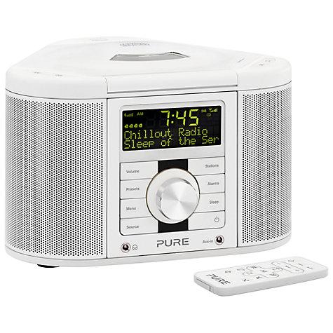 buy pure chronos cd series ii dab fm cd clock radio john lewis. Black Bedroom Furniture Sets. Home Design Ideas