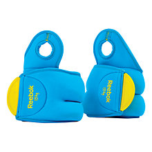 Buy Reebok Wrist Weights, Cyan, 2 x 1.5kg Online at johnlewis.com