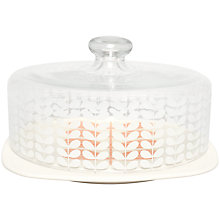 Buy Orla Kiely Multi Stem Cake Dome, Cream Online at johnlewis.com